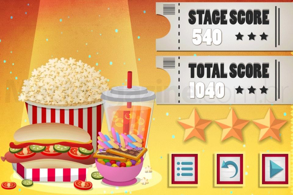 Jogo Snack Mania para iOS