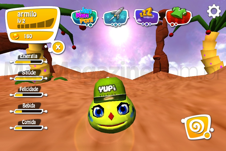 Jogo Yupies para iOS