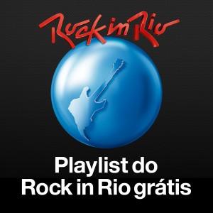 """Capa do álbum """"Playlist do Rock in Rio grátis"""""""