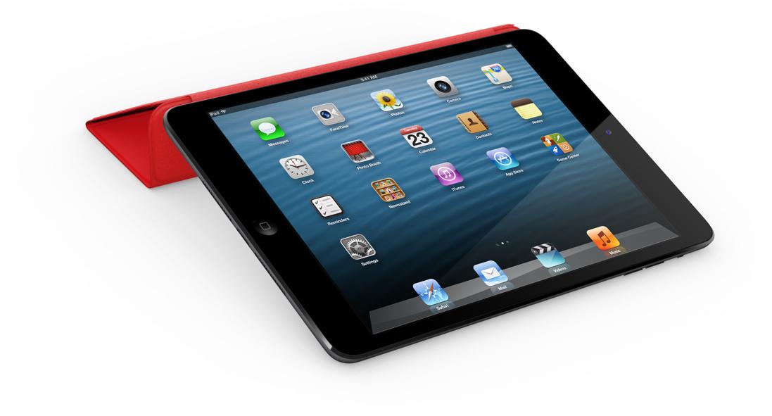 iPad mini com Smart Cover