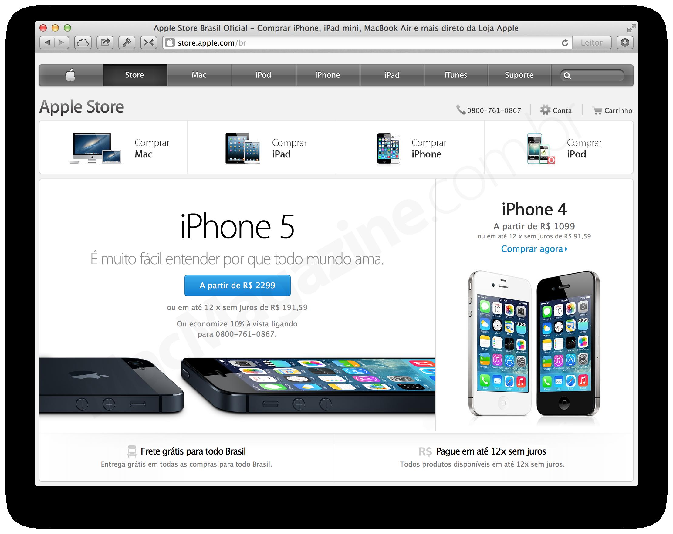 Apple Online Store - iPhones