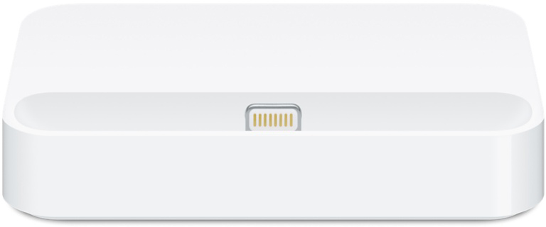 Dock do iPhone 5c de frente