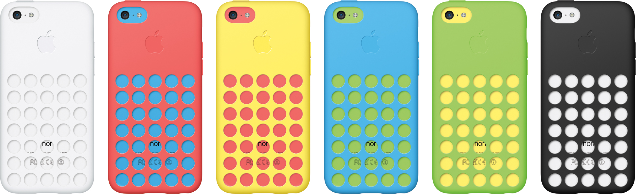 iPhones 5c com cases