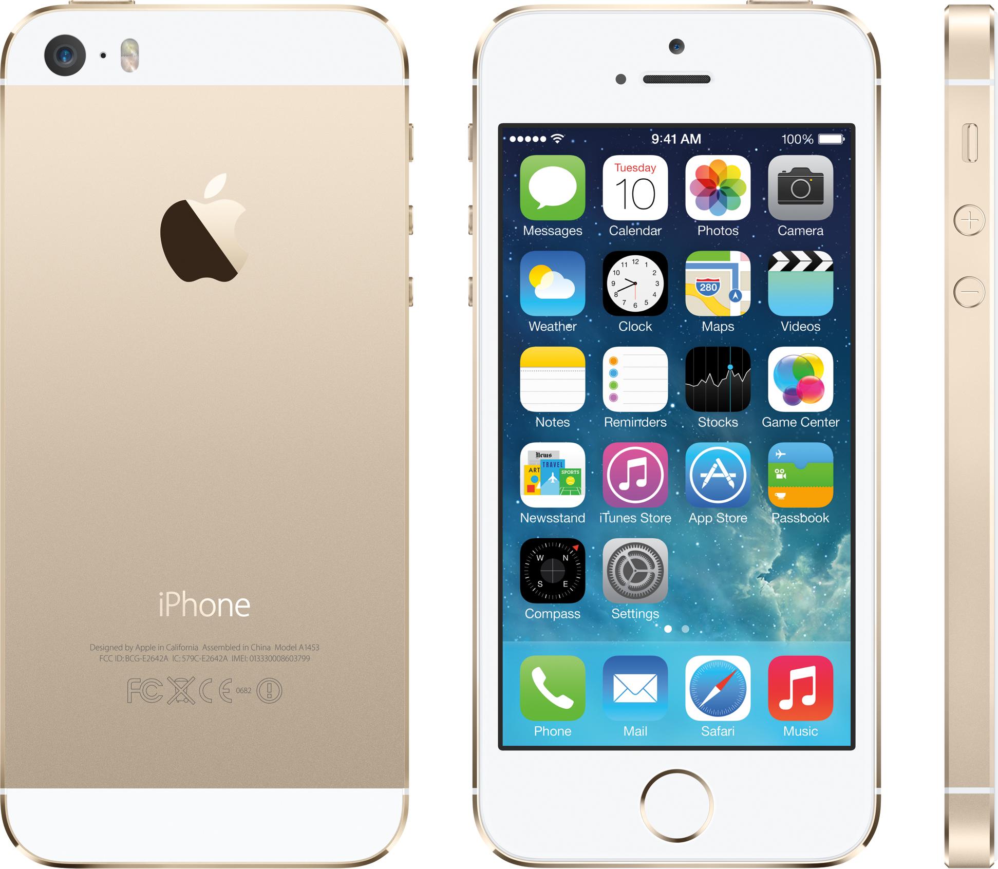 iPhone 5s dourado/ouro