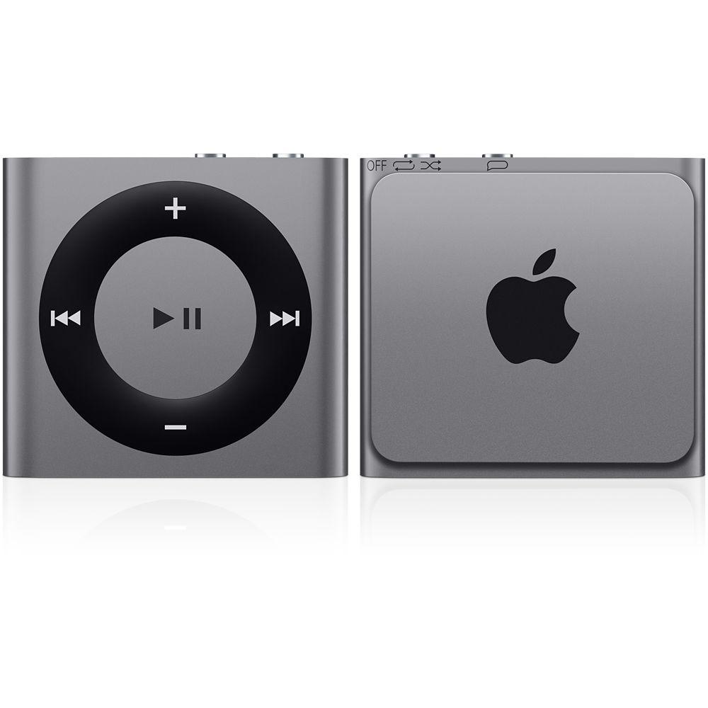 iPod shuffle na cor cinza espacial