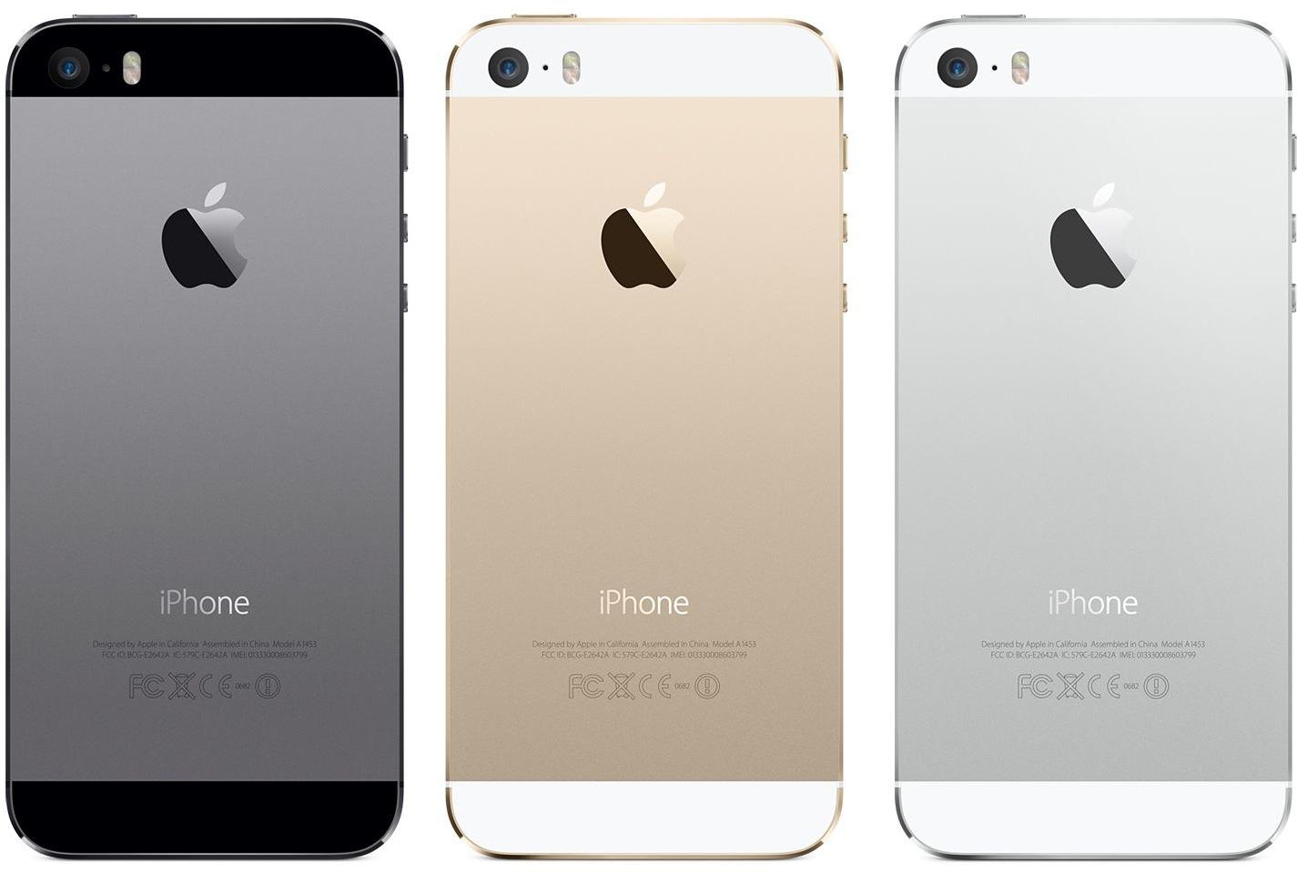 Traseira do iPhone 5s