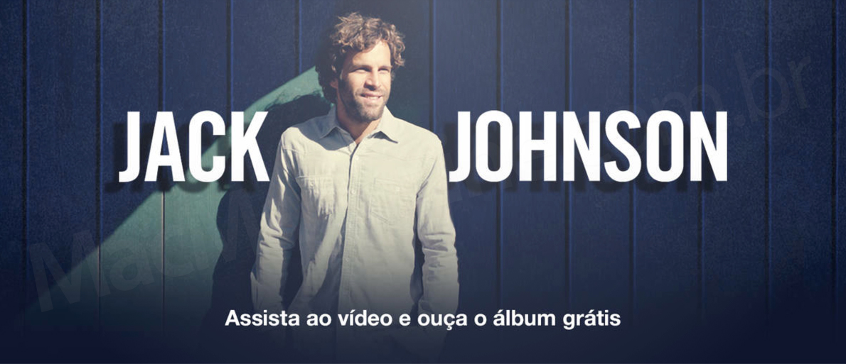Destaque de Jack Johnson na iTunes Store