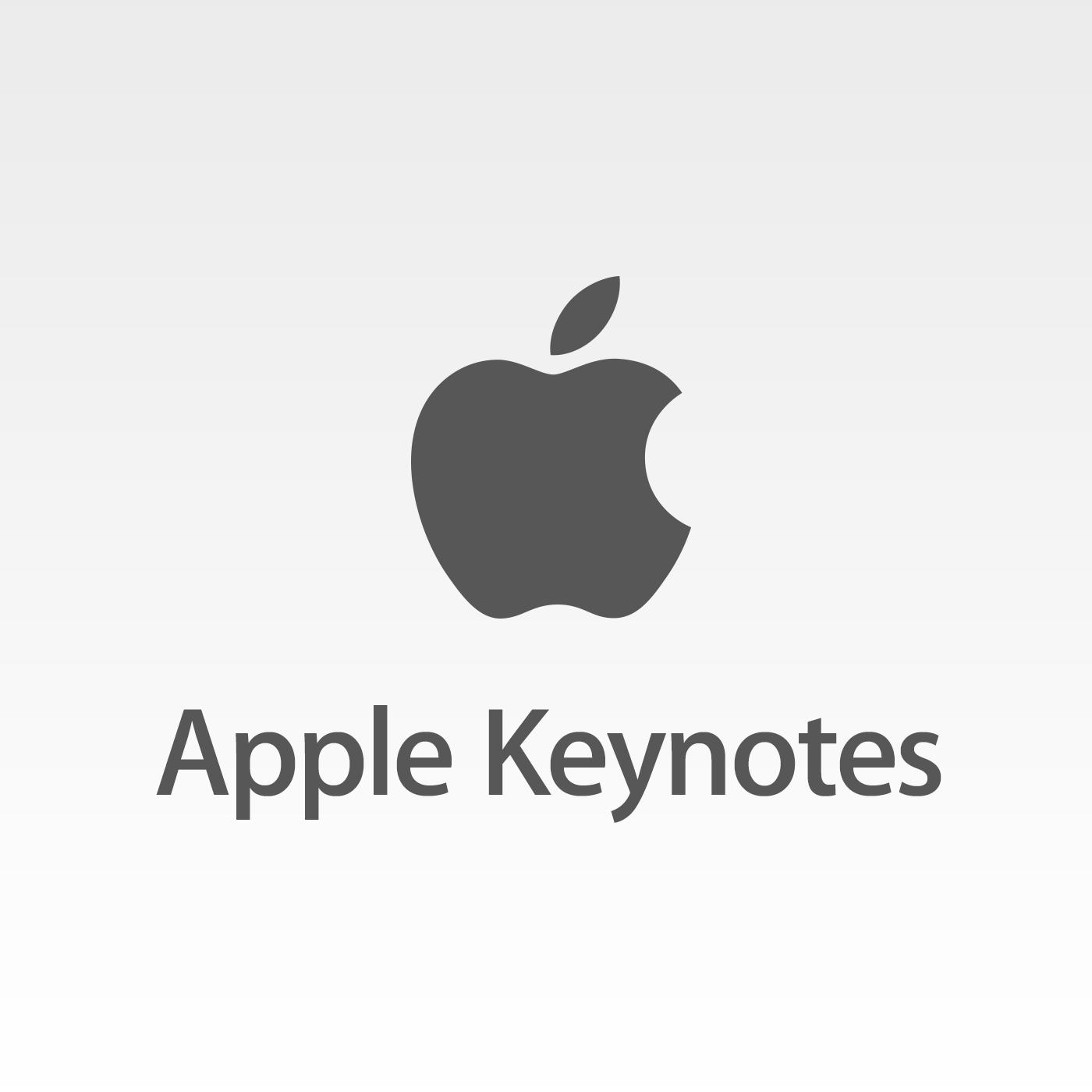 Capa do podcast Apple Keynotes