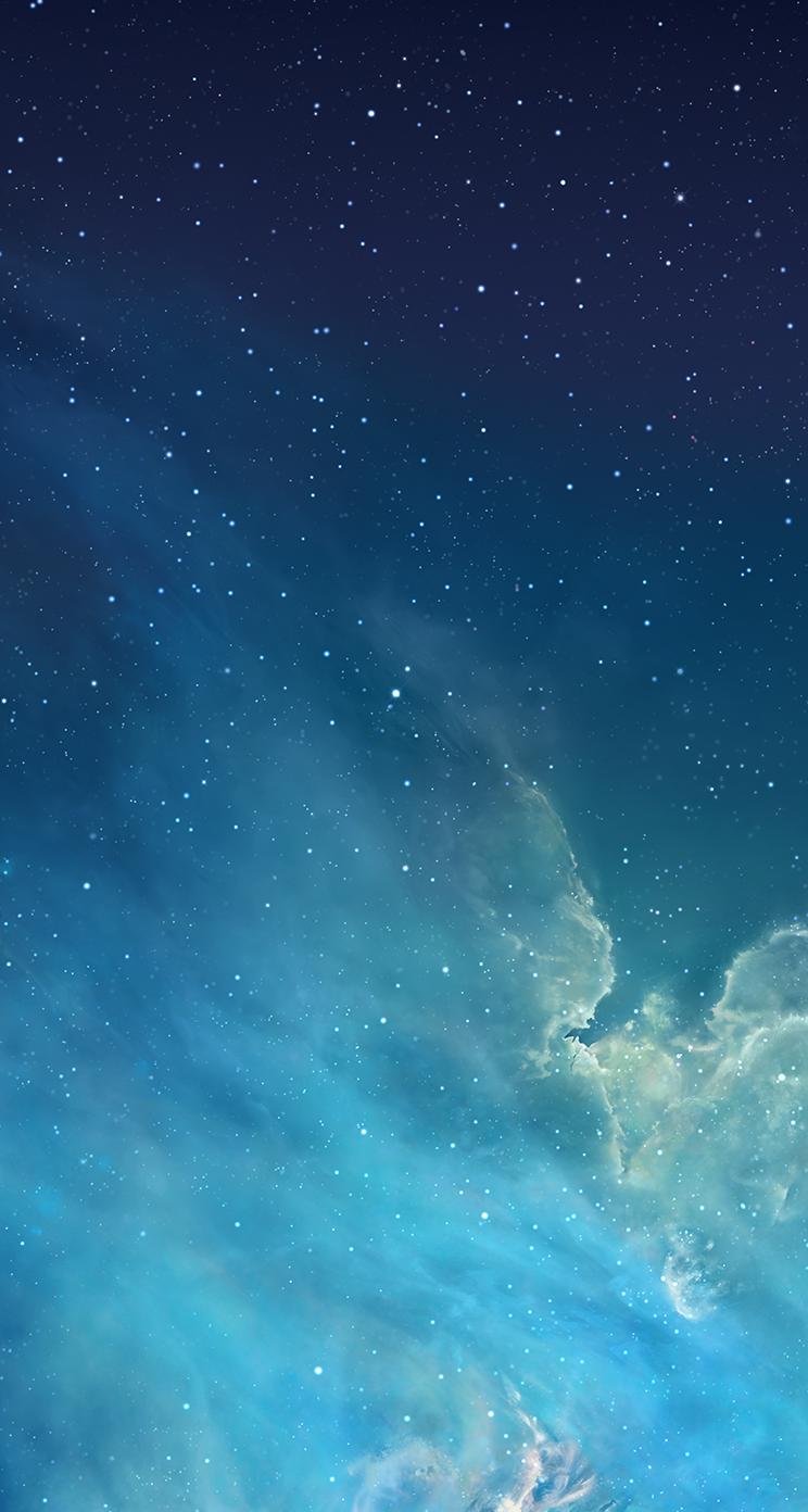 Confira As Novas Imagens De Fundo Que A Apple Adicionou Ao Ios 7  -> Imagens Do Universo Para Papel De Parede
