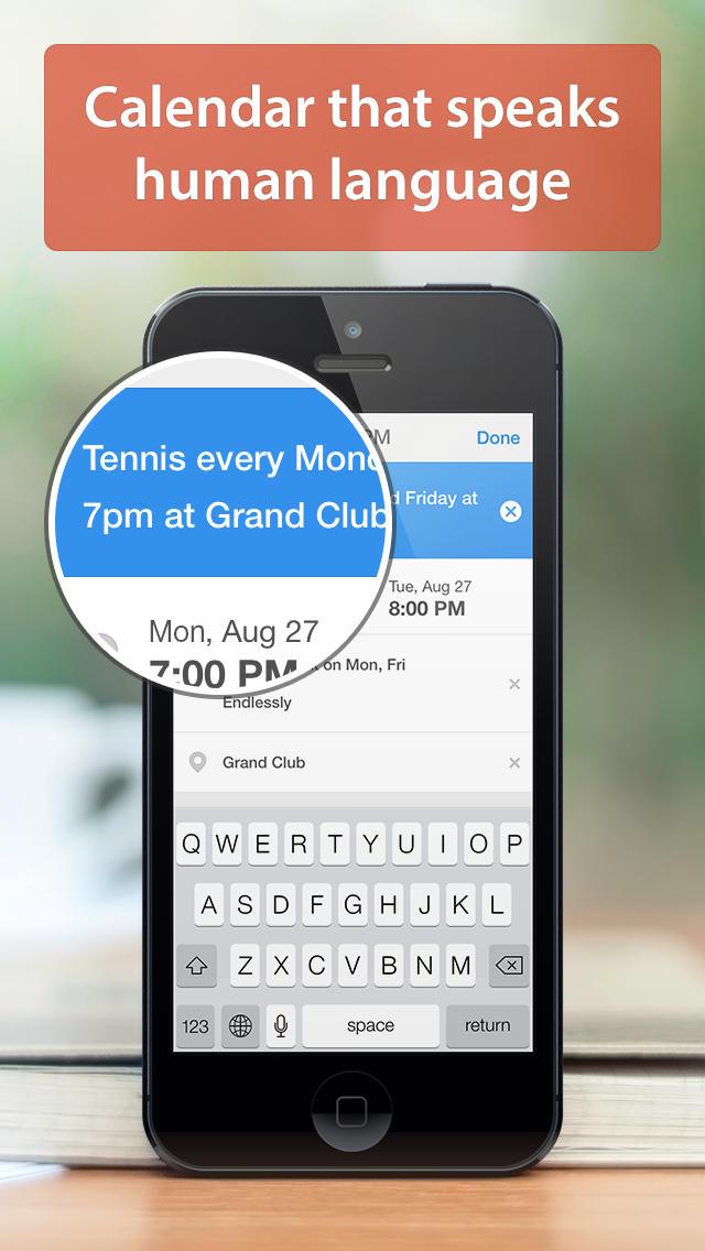 App Calendars 5 para iOS