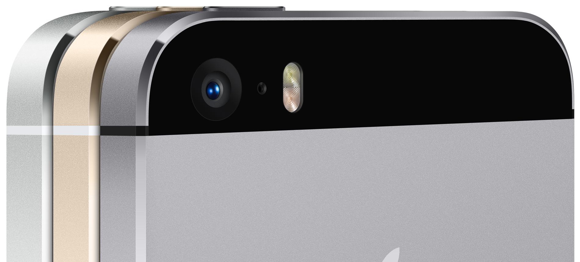 Câmera iSight do iPhone 5s