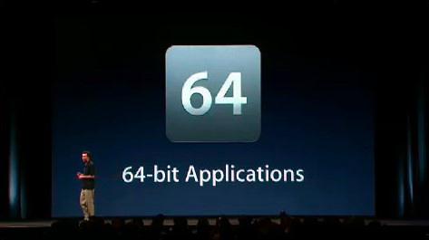 Scott Forstall falando de chips 64 bits