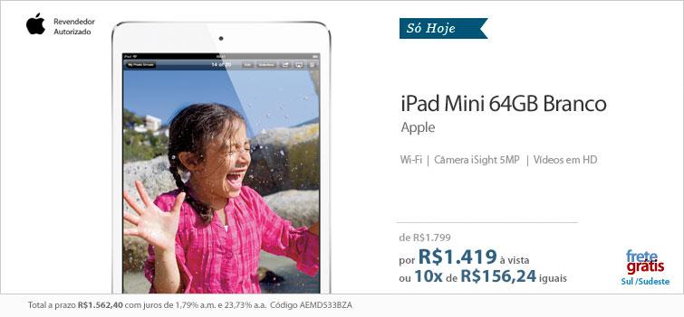 iPad mini em promoção na Fast Shop