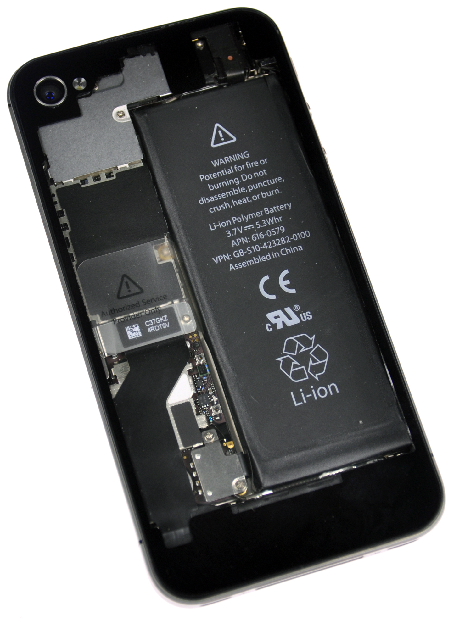 iPhone 4s com o Revelation Kit da iFixit