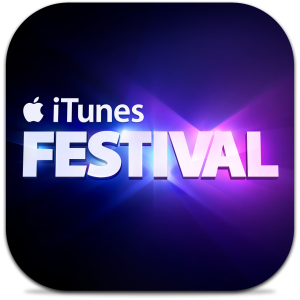 Ícone do app iTunes Festival London 2013 para iOS