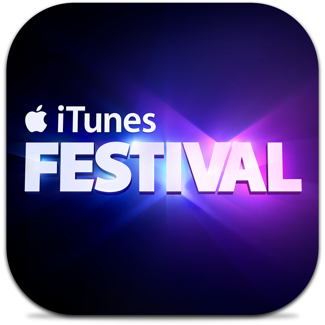 Ícone do app iTunes Festival London 2013 para iOS