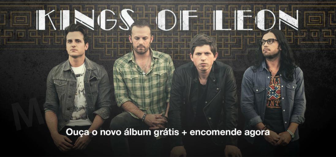 Álbum grátis do Kings of Leon