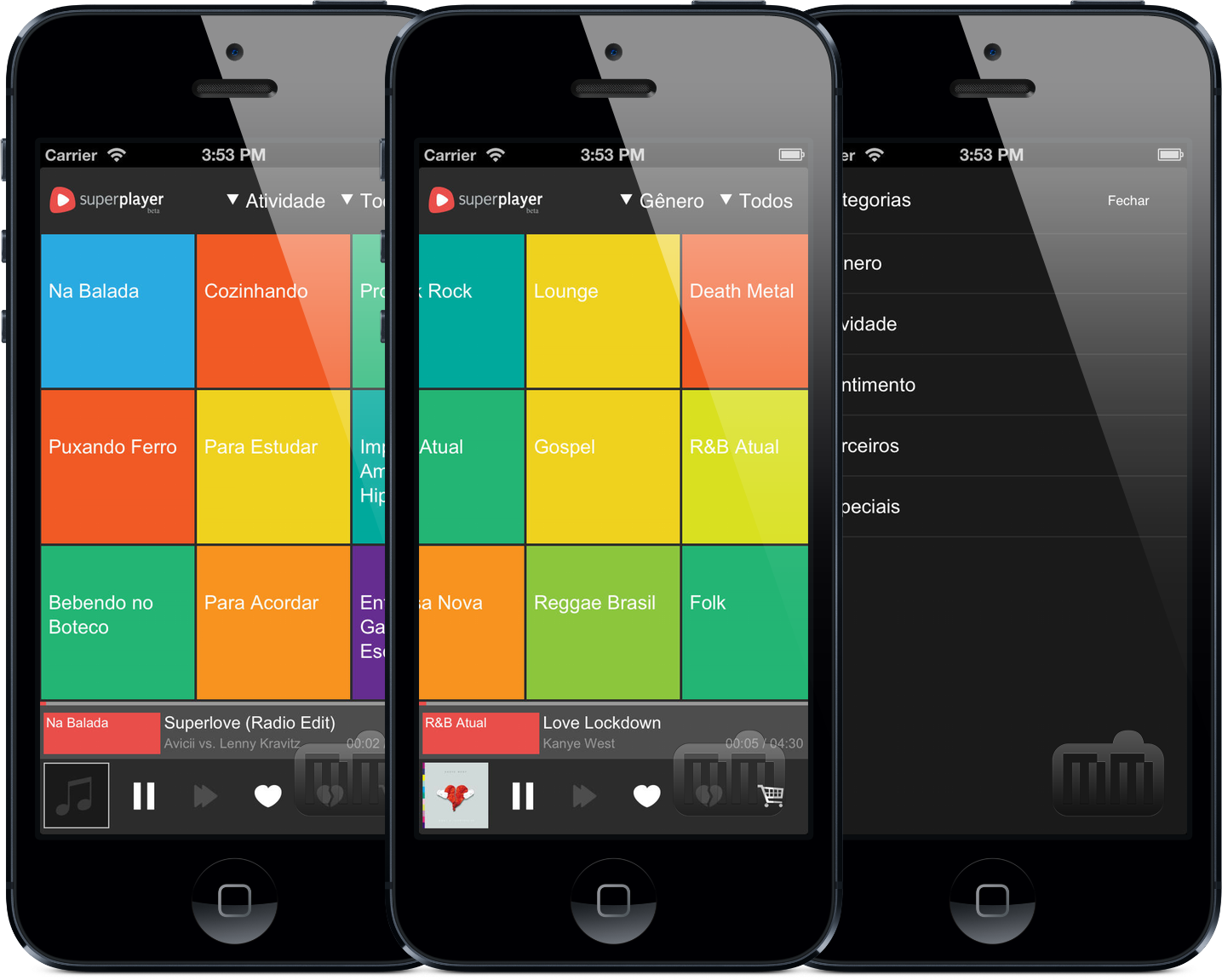 App Superplayer para iPhones/iPods touch