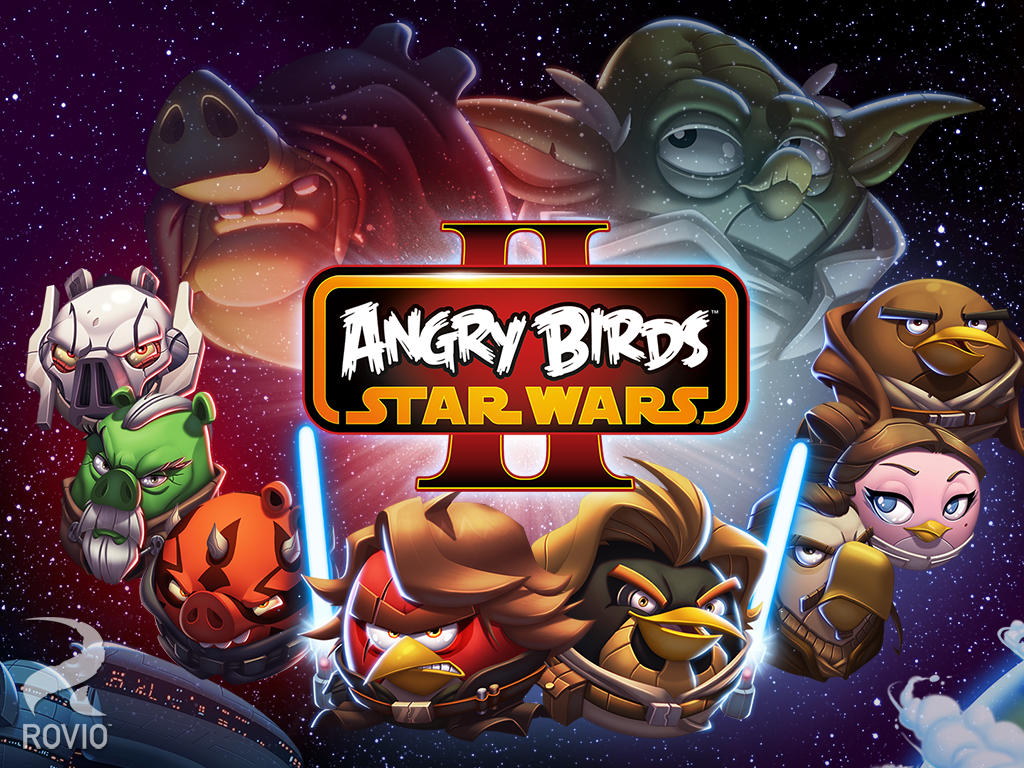 Jogo Angry Birds Star Wars II