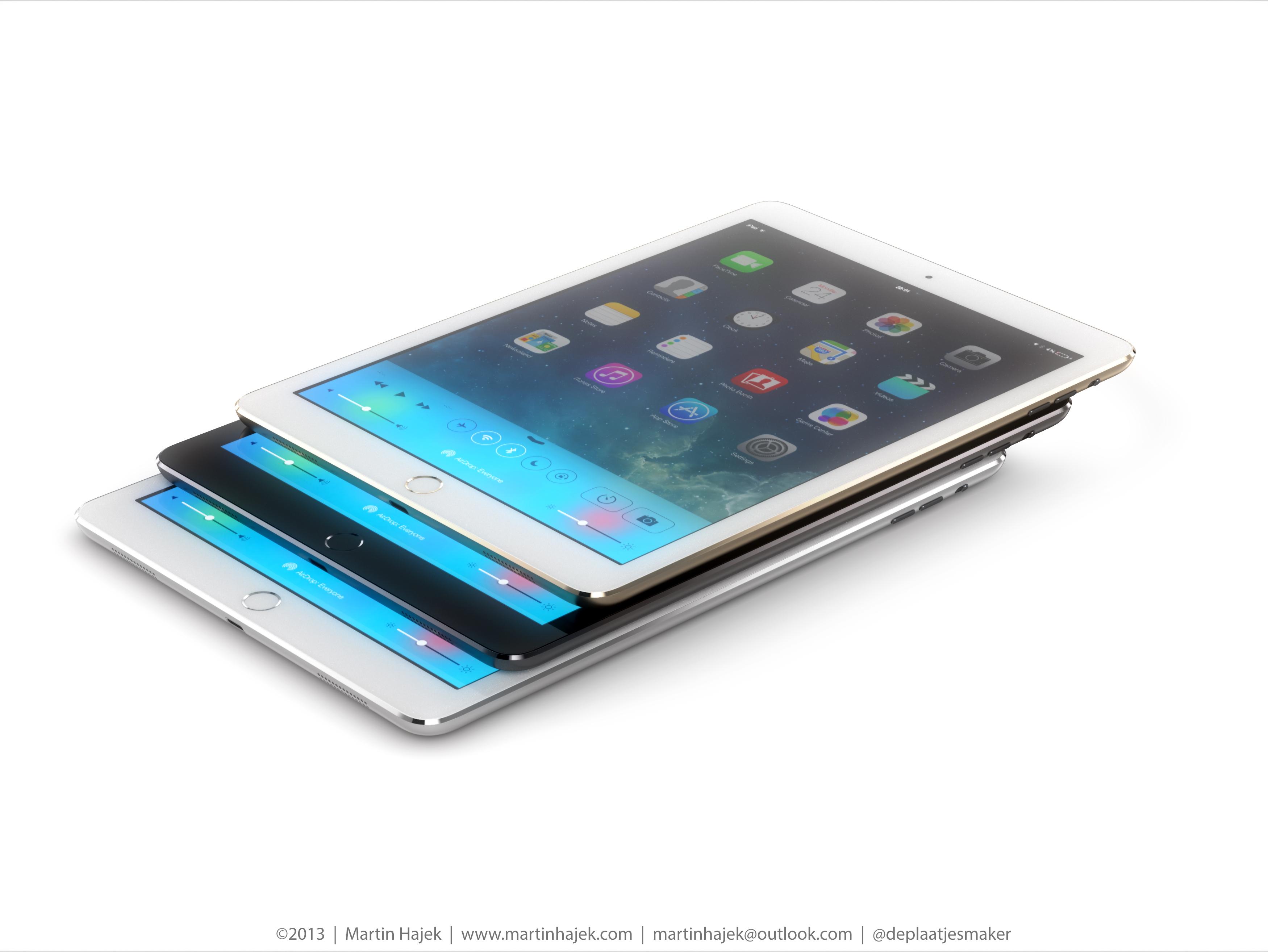 Conceito dos novos iPads