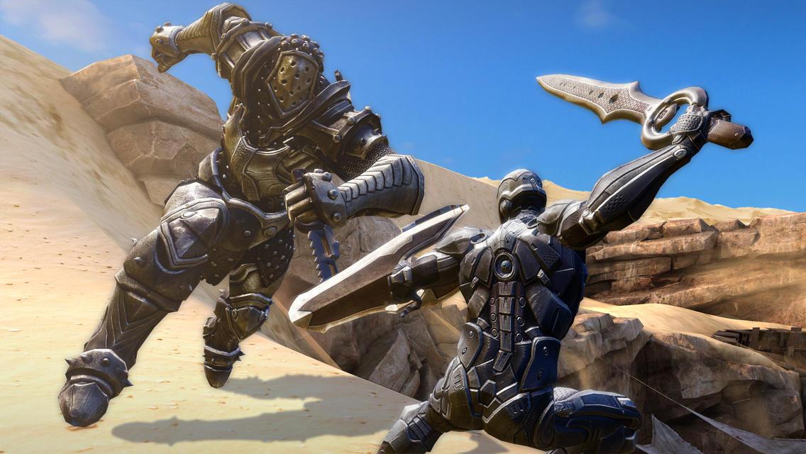 Screenshot de Infinity Blade III
