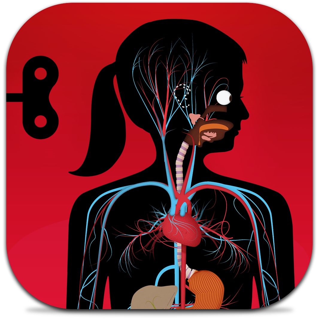 Ícone do app O Corpo para iOS