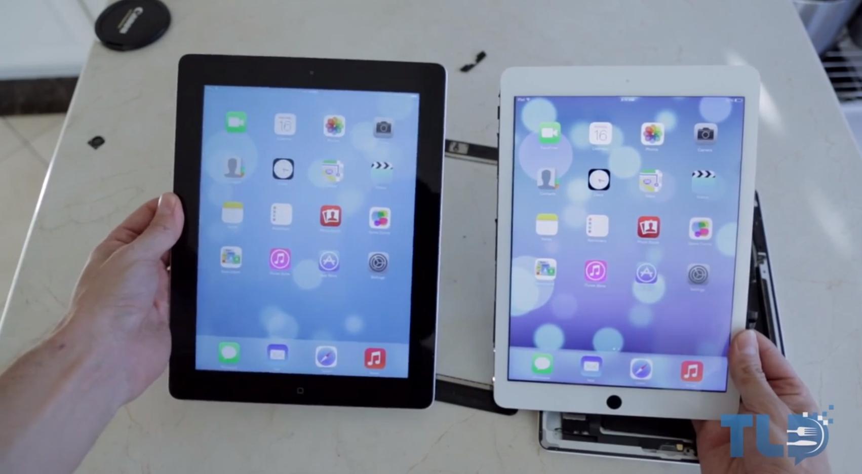Vídeo da suposta carcaça do iPad de quinta geração