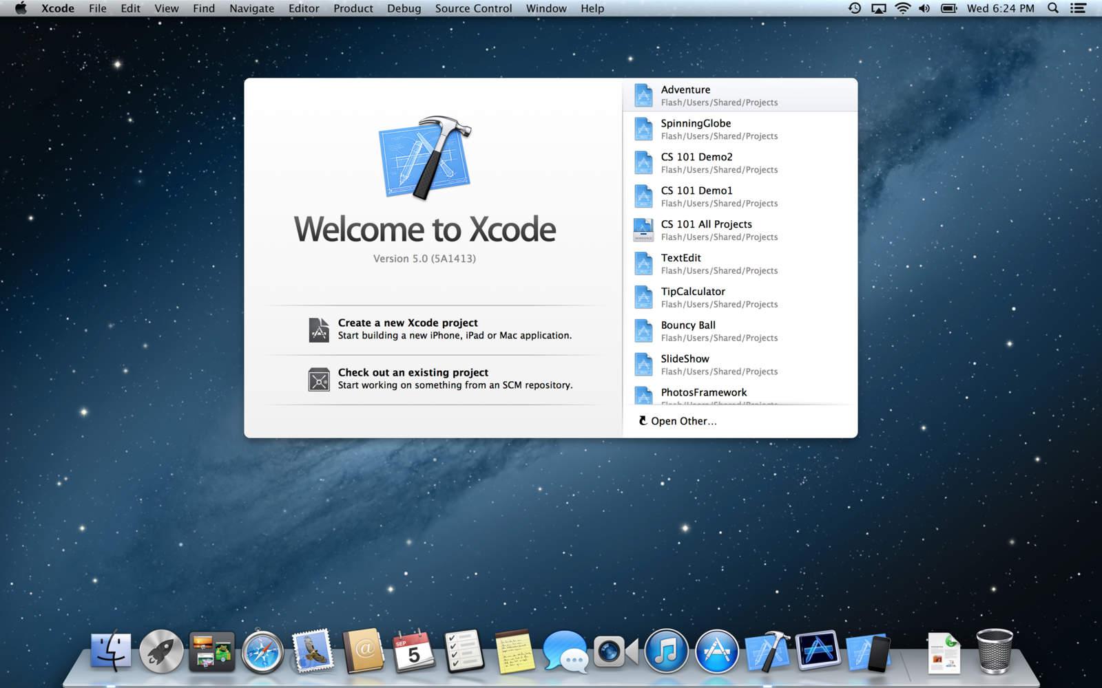 ↪ Versão final do Xcode 5 está agora disponível para download na