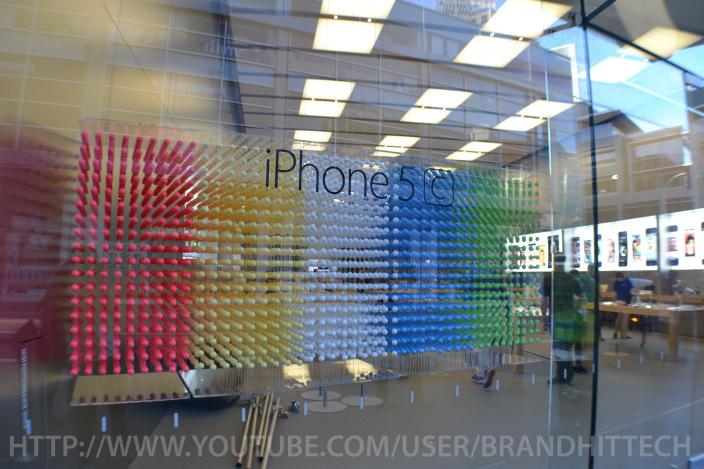 Vitrine de uma Apple Retail Store