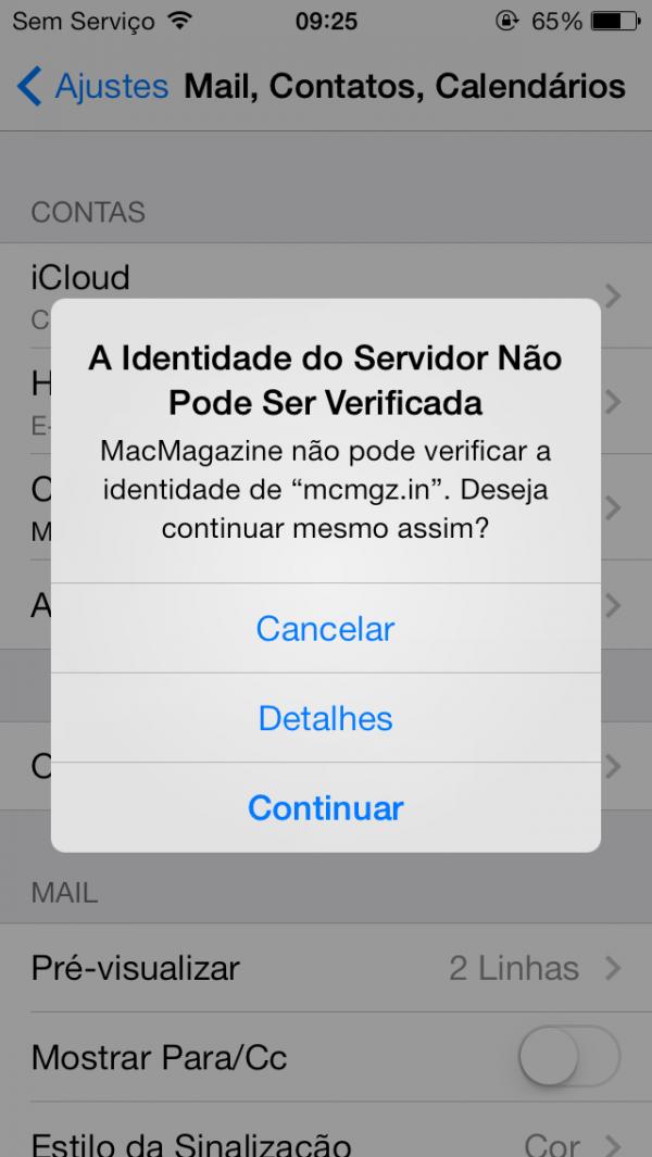 Identidade de servidor no calendário do MacMagazine