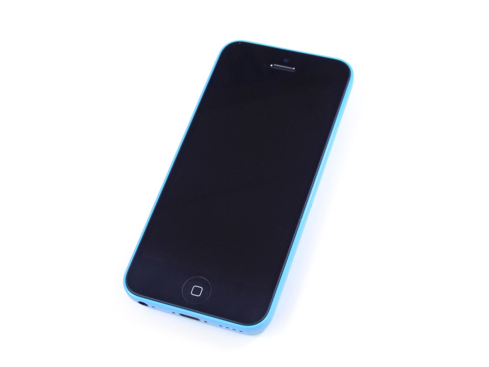 Desmontagem do iPhone 5c azul - iFixit