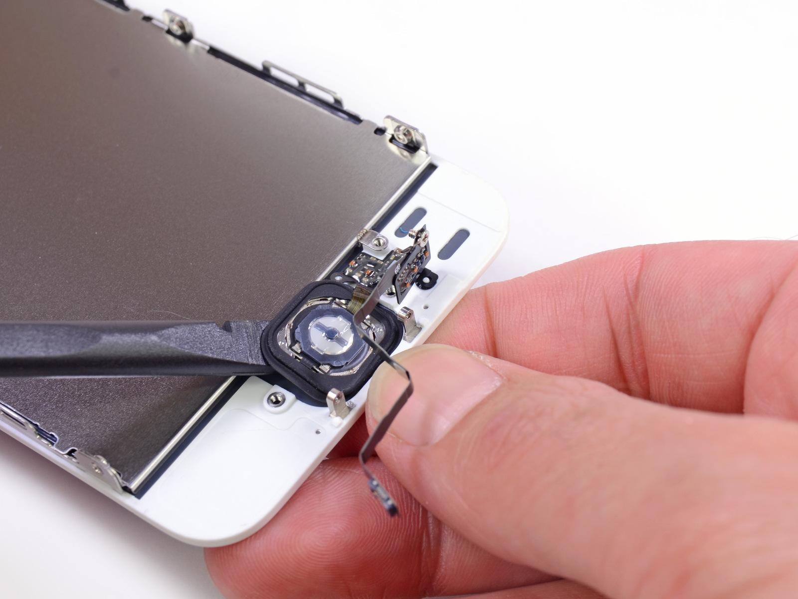 Desmontagem do iPhone 5s dourado - iFixit