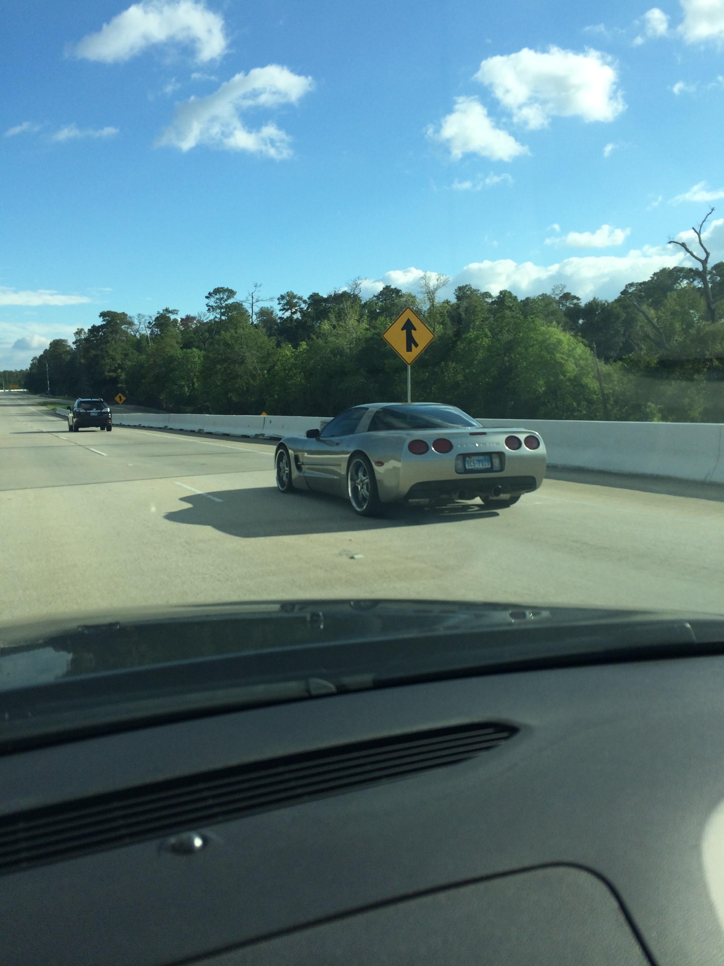 Foto tirada do carro com o iPhone 5s