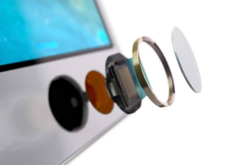 Touch ID do iPhone 5s