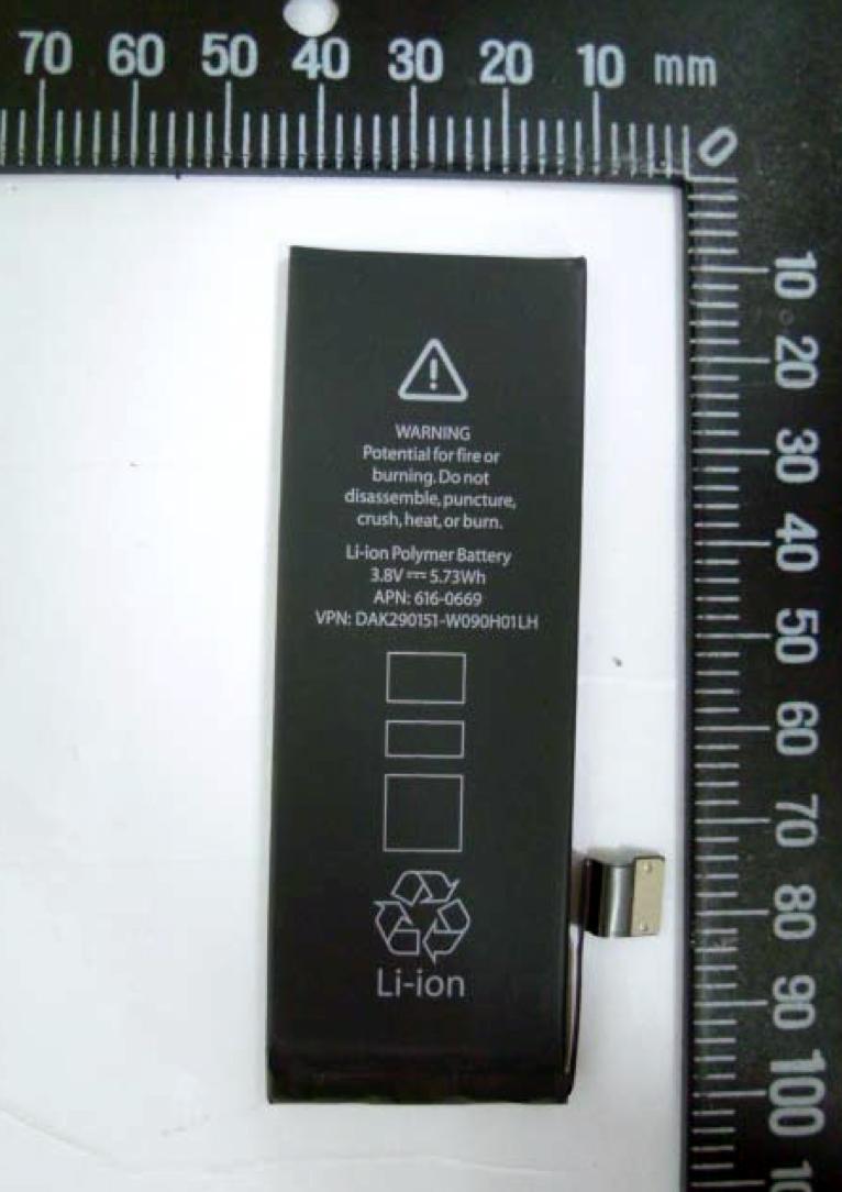Bateria homologada pela ANATEL