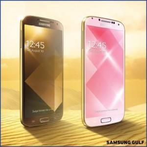 GALAXY S 4 dourado