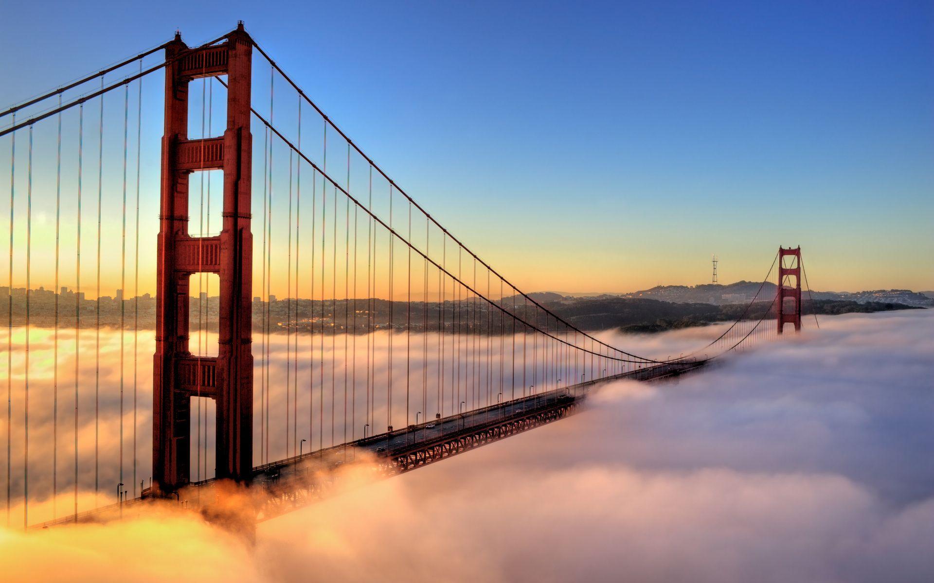 Ponte Golden Gate, em San Francisco
