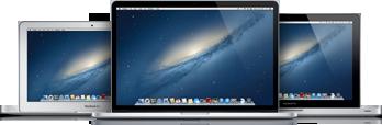 Família de MacBooks Air/Pro