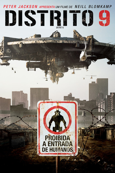 """Cartaz do filme """"Distrito 9"""""""