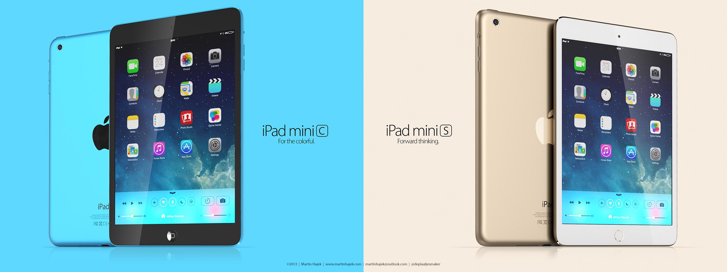 Conceito de iPad mini criado por Martin Hajek