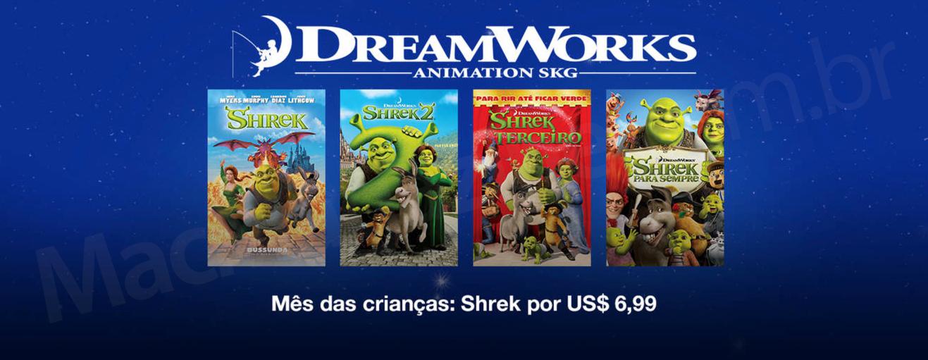 DreamWorks para crianças na iTunes Store