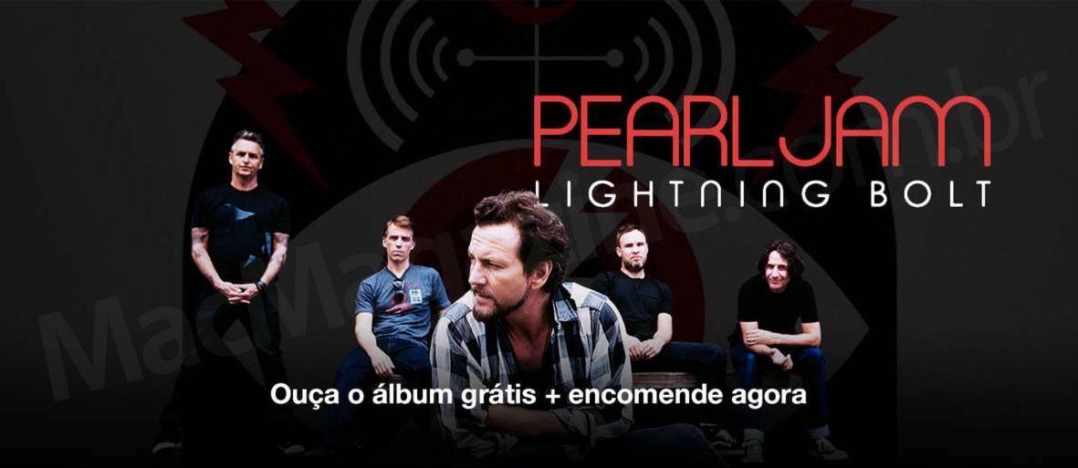Ouça grátis o novo álbum do Pearl Jam