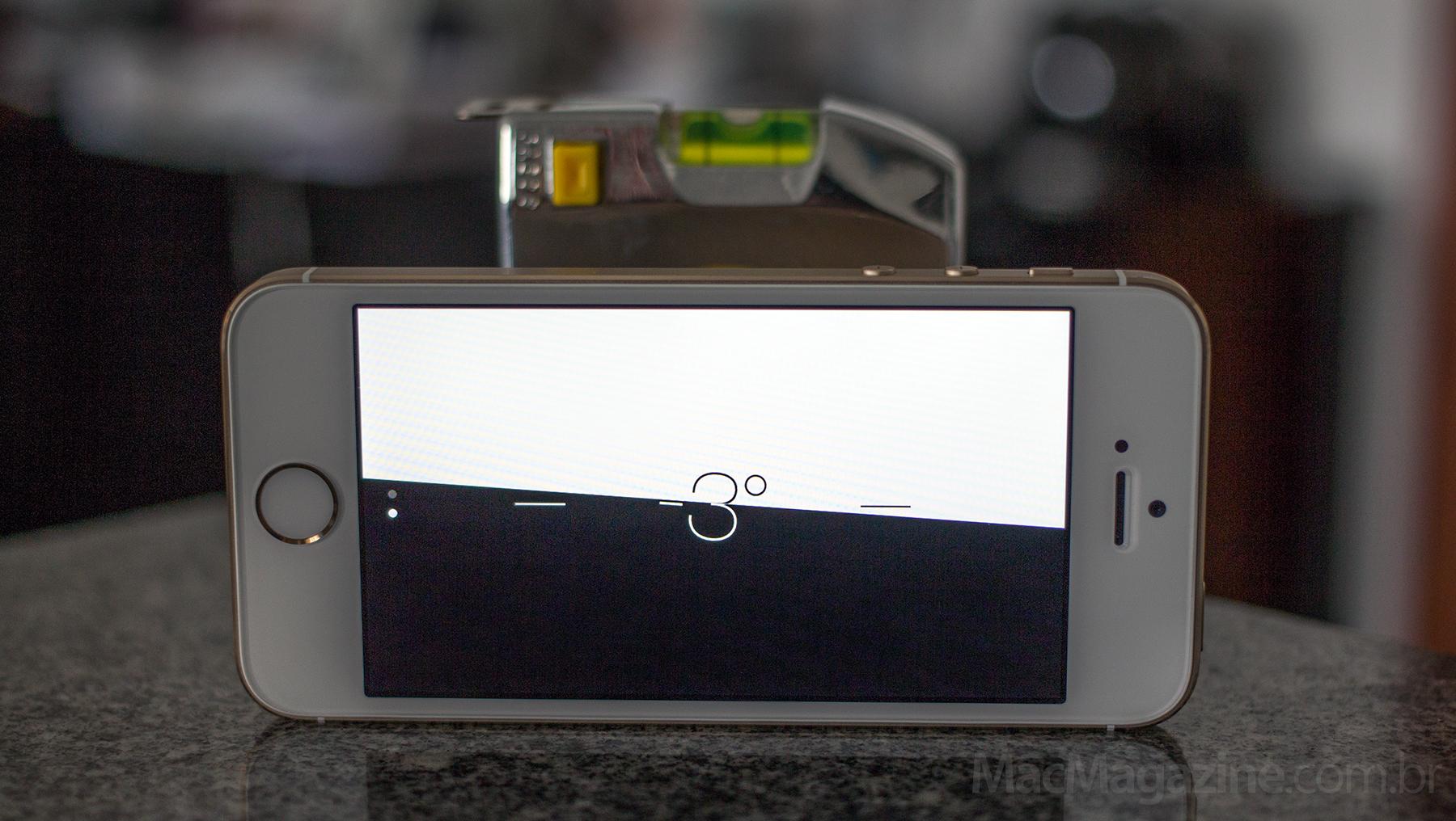 Sensor do iPhone 5s desregulado