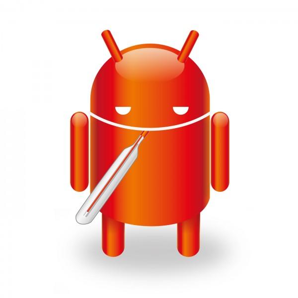 Android infectado por malware