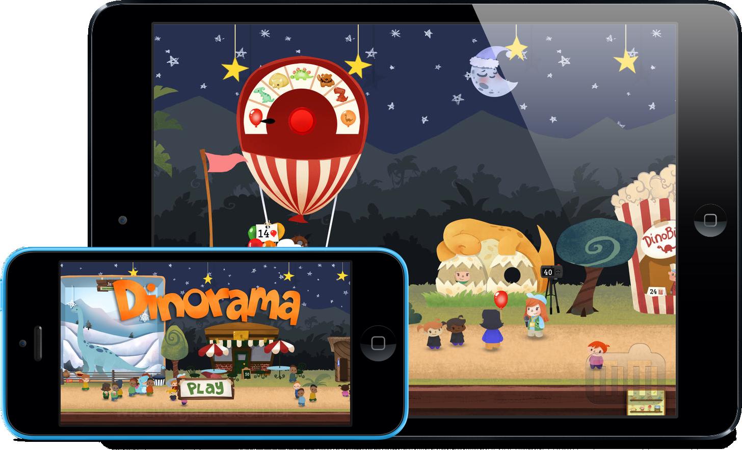 App Dinorama para iOS