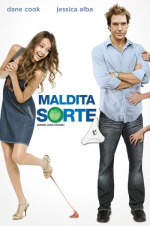 """Cartaz do filme """"Maldita Sorte"""""""