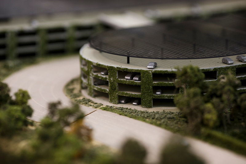 Maquete do Apple Campus 2