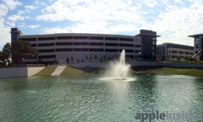 Novo campus da Apple em Austin, no Texas