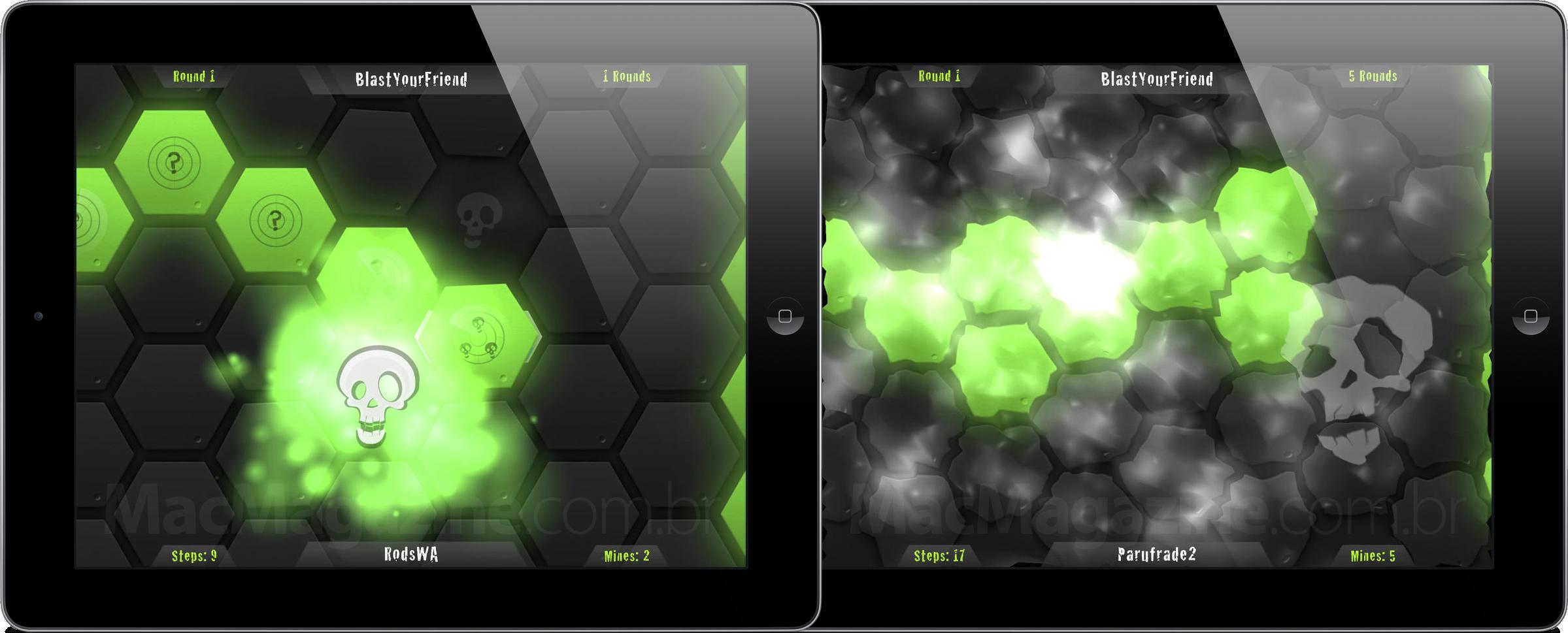 Jogo BlastYourFriend para iPads