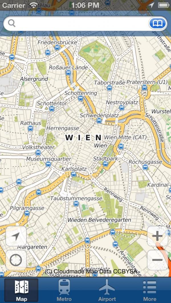 Viena Mapa Offline